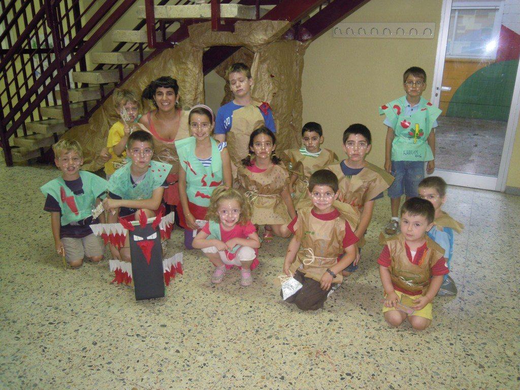 Una de las tribus en la gymkhana