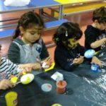taller de huevos
